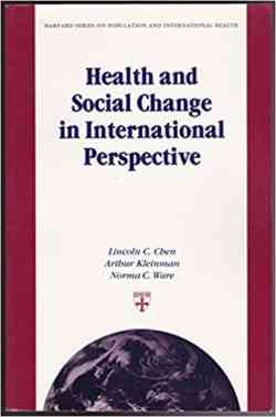 Health And Social Change In International Perspective